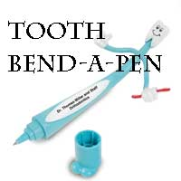 pen bend a tooth